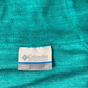 Columbia Tops - Plus size Columbia fleece 3/4 zip